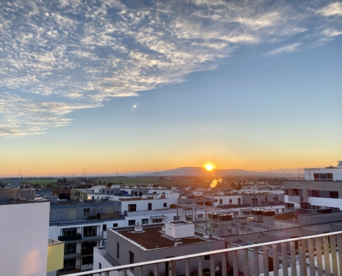 Apartment Sky sunset